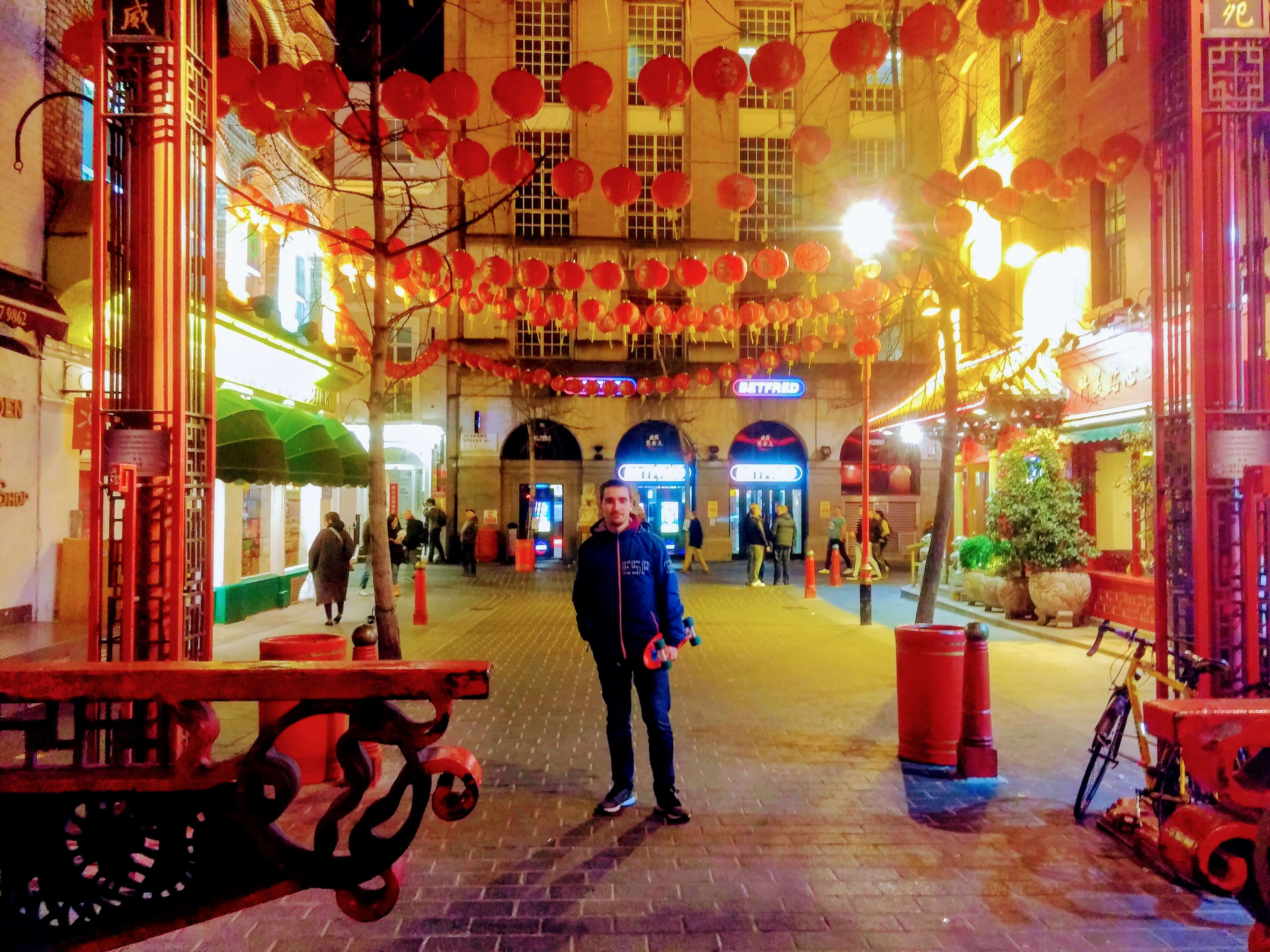 Me at Chinatown